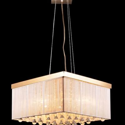 Żyrandol lampa wisząca kryształowa nowoczesna złota