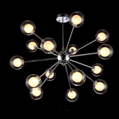 Nowoczesna lampa wisząca żyrandol plafon duży