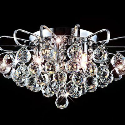 Plafon lampa kryształowa nowoczesna