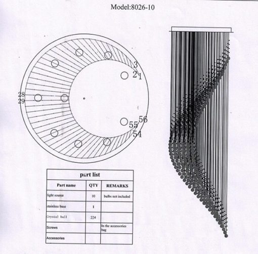 instrukcja lampy FALA 260