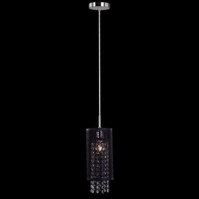 Lampa kryształowa nowoczesna wisząca nad stół ladę