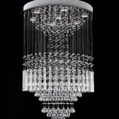 Nowoczesna kryształowa lampa wisząca 90