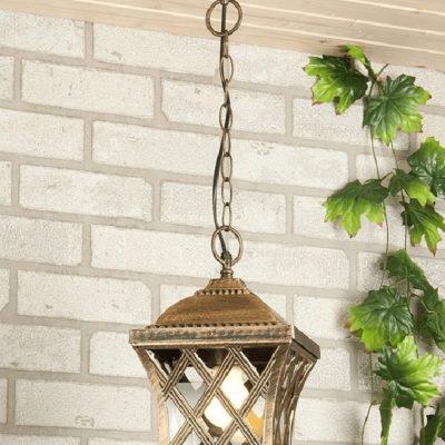 Lampa wisząca ogrodowa zewnętrzna
