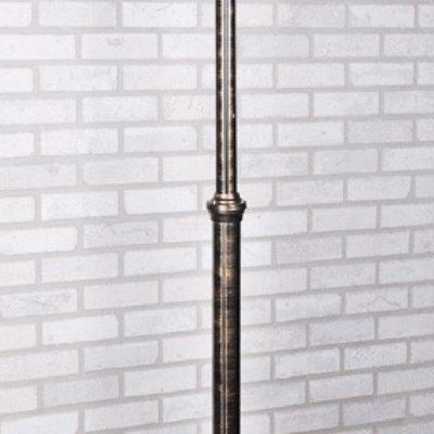 Lampa latarnia ogrodowa duża czarno złota