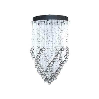 Lampa wisząca kryształowa, lampa nowoczesna, lampa nitypowa, lampa do salonu, lampa 6 punktowa, 80 cm, 50 cm,