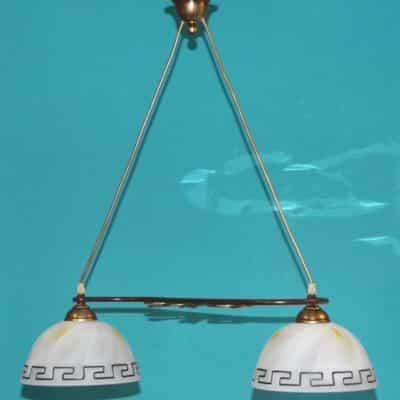 Nowoczesna lampa klasyczna wisząca nad stół