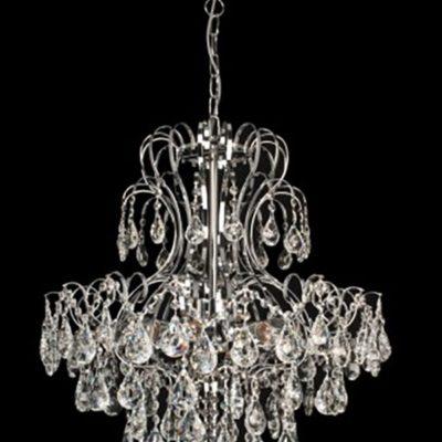 Lampa Kryształowa W-L 0237/8 Chrom