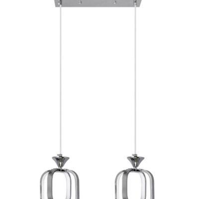 Lampa Wisząca LED 9713/2 Chrom