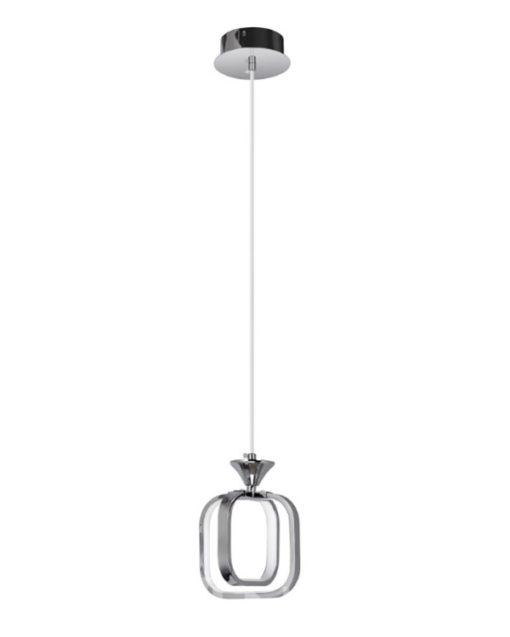 Lampa Wisząca LED W-9713/1 Chrom