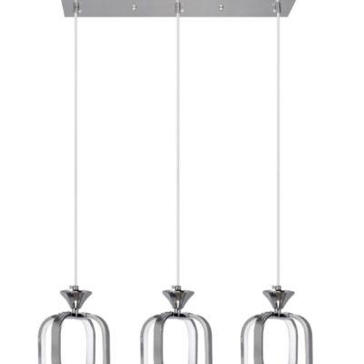 Lampa Wisząca W-MD 9713/3 Chrom