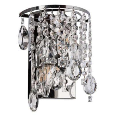 Kinkiet Kryształowy LED K-E 1380/2 Chrom