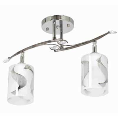 Lampa Przysufitowa W-N 0624/2 Chrom