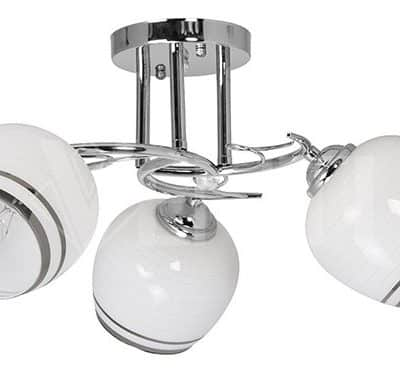 Lampa Przysufitowa W-N 1575/3 Chrom