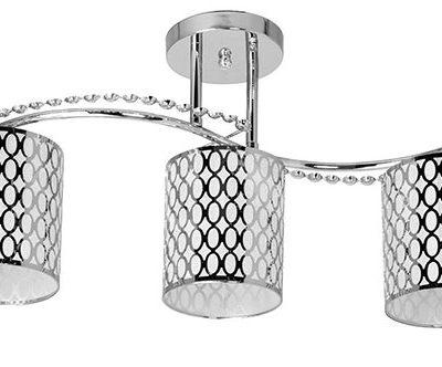 Lampa Przysufitowa W-N 0902/3 Chrom