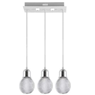 Lampa Wisząca LED 1261/3 Chrom