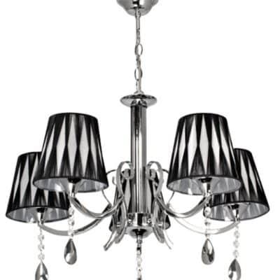 Lampa Żyrandol W-N 0882/5 Chrom