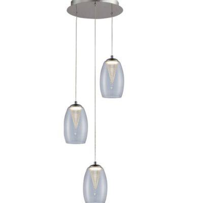 LAMPA WEWNĘTRZNA (WISZĄCA) ZUMA LINE ENZO PENDANT MD1622-3B (CLEAR)