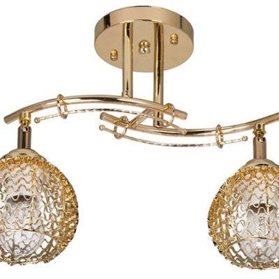 Lampa Przysufitowa W-N 1027/2 złota