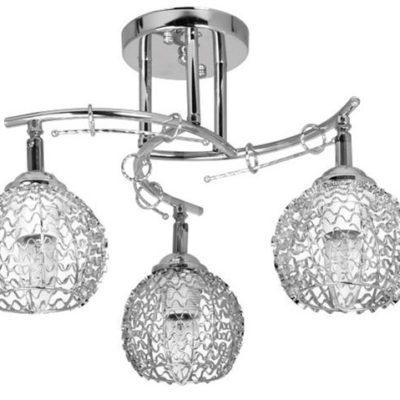Lampa Przysufitowa W-N 1027/3 Chrom