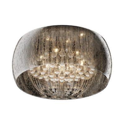 Plafon kryształowy szklany klosz krople deszczu LAMPA WEWNĘTRZNA (SUFITOWA) ZUMA LINE RAIN CEILING C0076-06X-F4K9