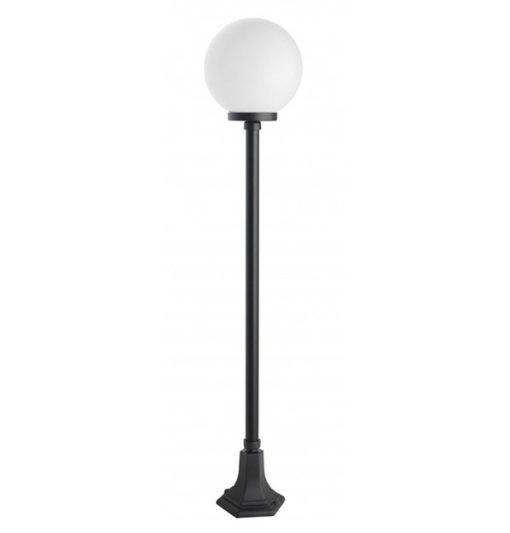 lampa ogrodowa stojąca czarna 1 punktowa kula KULE CLASSIC K 5002/1/KP 250